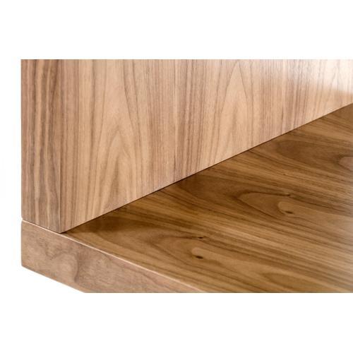 VIG Furniture - Modrest Stage 1 Modern Walnut Wall Unit