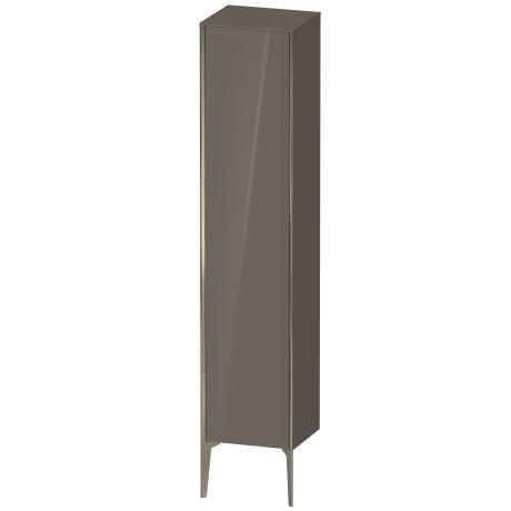 Product Image - Tall Cabinet Floorstanding, Flannel Gray High Gloss (lacquer)