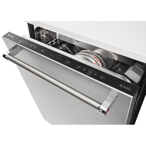 KitchenAid - 39 DBA Dishwasher with Fan-Enabled ProDry™ System and PrintShield™ Finish Stainless Steel with PrintShield™ Finish