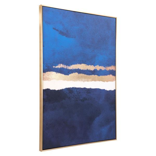 See Details - Ocean Horizon Canvas Multicolor