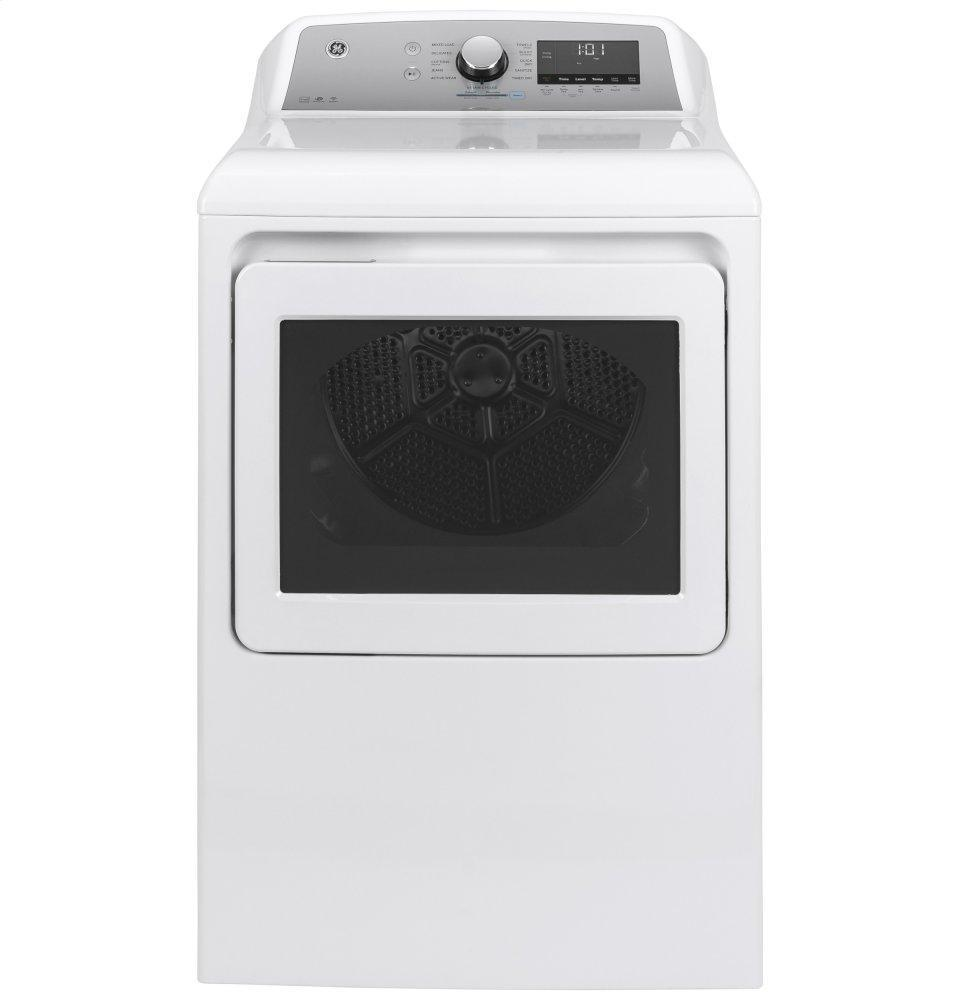 GEGe® 7.4 Cu. Ft. Capacity Smart Aluminized Alloy Drum Electric Dryer With Sanitize Cycle And Sensor Dry