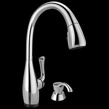 Single Handle Pull-Down Kitchen Faucet with Touch 2 O ® and ShieldSpray ® Technologies