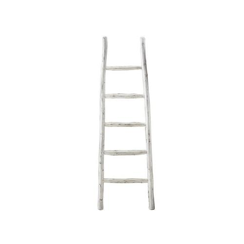 Blanket Ladder - Linen White Finish