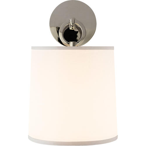 Barbara Barry French Cuff 1 Light 8 inch Polished Nickel Decorative Wall Light