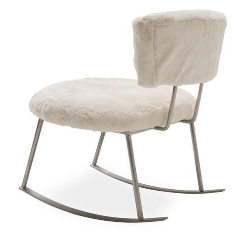 Amini - Pebble Beach Rocker Chair Powder