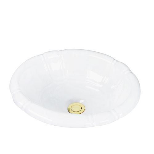 Sienna Drop In Bowl - White