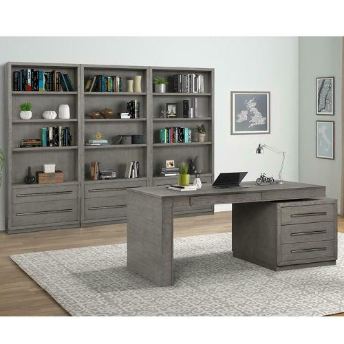 PURE MODERN 4pc Wall with Executive Desk