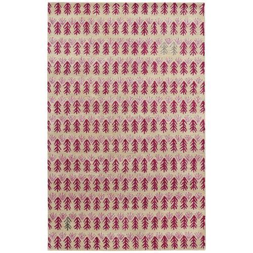 Capel Rugs - Sticks Berry - Rectangle - 5' x 8'