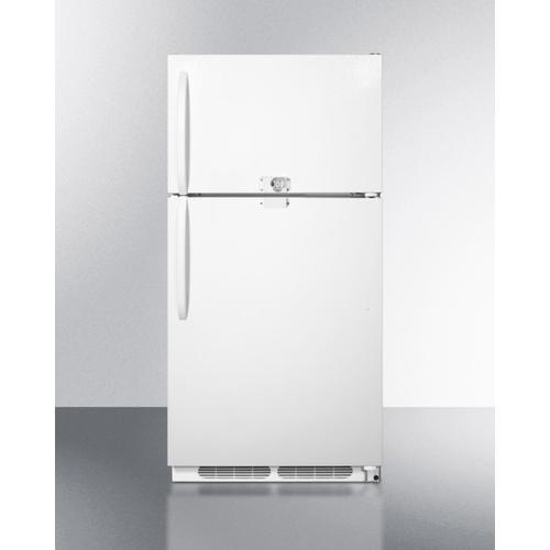 "Summit - 30"" Wide Top Mount Refrigerator-freezer"