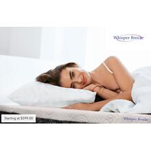 "8"" Whisper Breeze Queen Mattress"