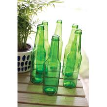 See Details - recycled green glass bottle
