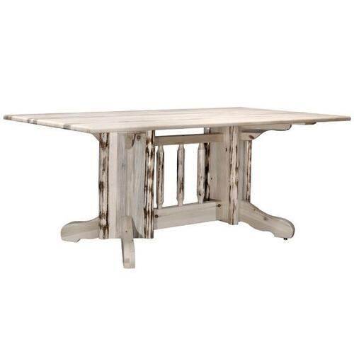 Montana Woodworks - Montana Collection Double Pedestal Table