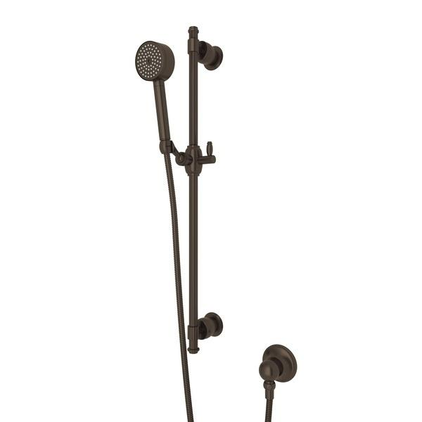 Tuscan Brass Michael Berman Zephyr Single-Function Handshower Set