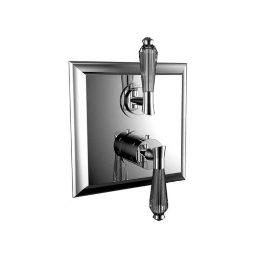 "7095dc-tm - 1/2"" Thermostatic Trim With Volume Control in Roman Bronze"