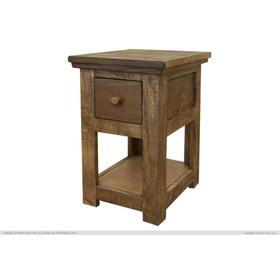 1 Drawer, Chair Side Table.