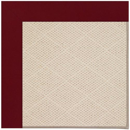 """Creative Concepts-White Wicker Canvas Burgundy - Rectangle - 24"""" x 36"""""""