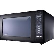 See Details - Luxury Full-Size 2.2 cu. ft Genius Countertop Microwave Oven with Inverter Technology, Black NN-SN968B