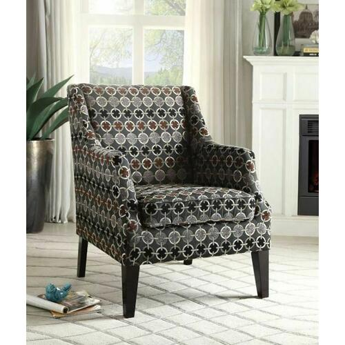 Acme Furniture Inc - ACME Zarate Accent Chair - 59442 - Pattern Fabric