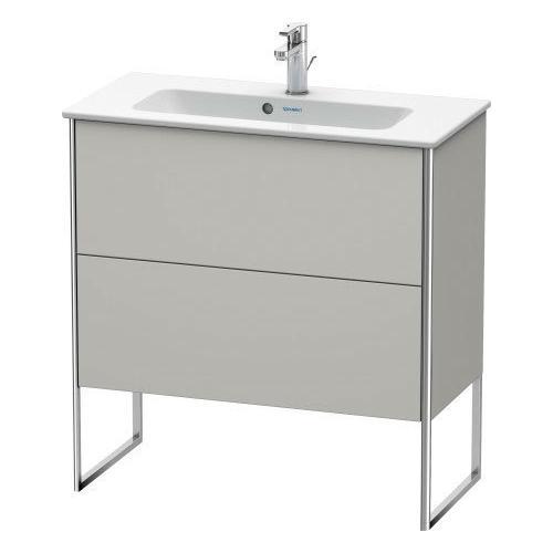 Vanity Unit Floorstanding Compact, Concrete Gray Matte (decor)
