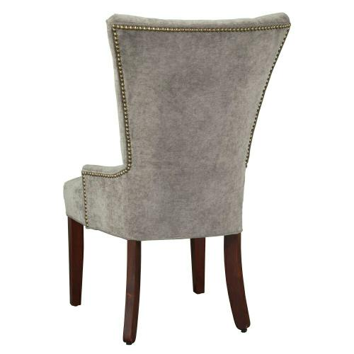 7256 Sandra Dining Chair with Nailheads