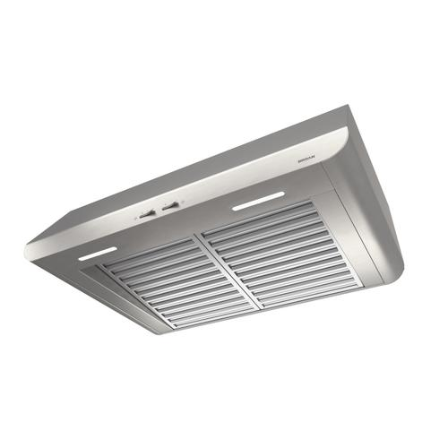 Broan® 48-Inch Convertible Under-Cabinet Range Hood, 400 CFM, Stainless Steel