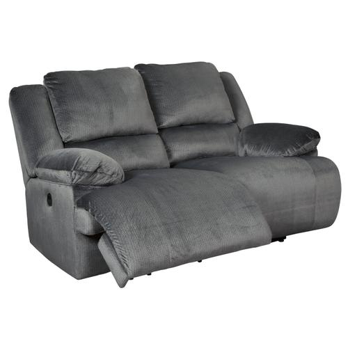 Clonmel - Charcoal Reclining Power Loveseat