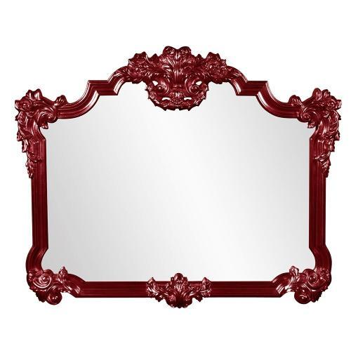 Howard Elliott - Avondale Mirror - Glossy Burgundy