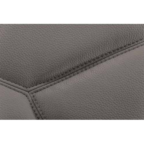 VIG Furniture - Divani Casa Quebec - Modern Dark Grey Eco-Leather Right Facing Sectional Sofa