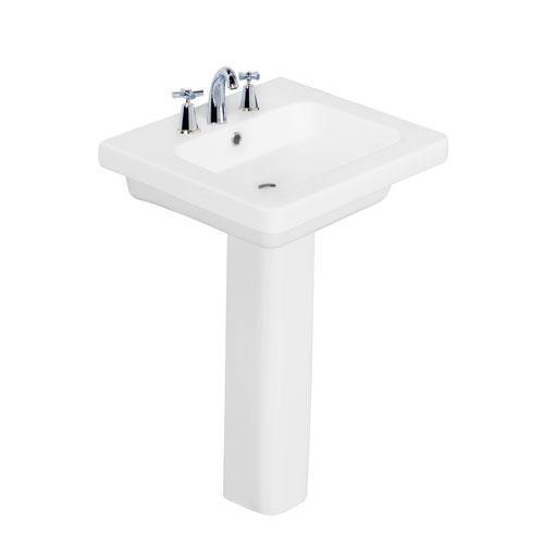 "Resort 550 Pedestal Lavatory - 8"" Widespread"
