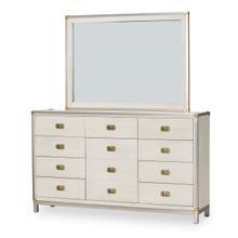 View Product - Storage Console- Dresser W/mirror (2pc)