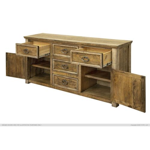 4 Drawer, 2 Doors Buffet