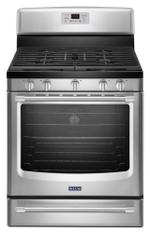 Maytag MGR8700DS Gas Ranges 30&quote; Free Standing Gas Range 30-inch Wide Gas Range with Convection and Power Burner - 5.8 cu. ft.
