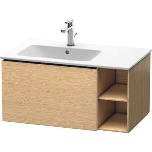 Vanity Unit Wall-mounted, Brushed Oak (real Wood Veneer)