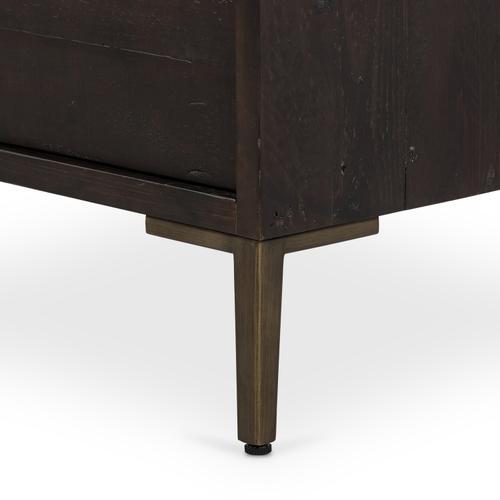 Wyeth 3 Drawer Dresser-dark Carbon