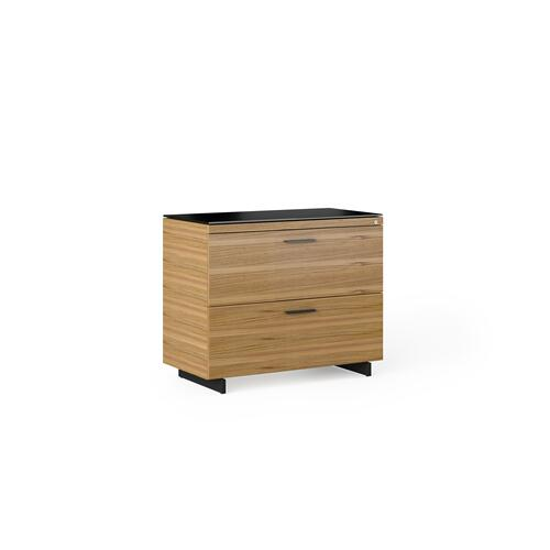 BDI Furniture - Sequel 20 6116 Lateral File Cabinet in Walnut Black