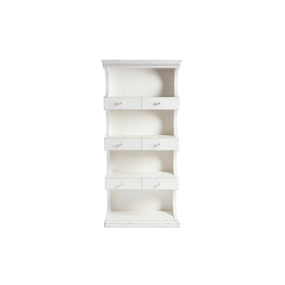 Juniper Dell Bookcase - 17th Century White