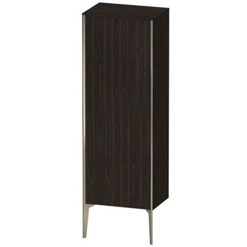 Duravit - Semi-tall Cabinet Floorstanding, Brushed Walnut (real Wood Veneer)