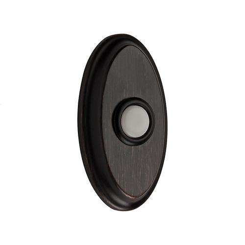 Venetian Bronze BR7016 Oval Bell Button