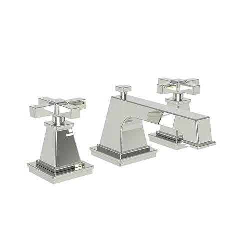 Newport Brass - Polished Nickel - Natural Widespread Lavatory Faucet