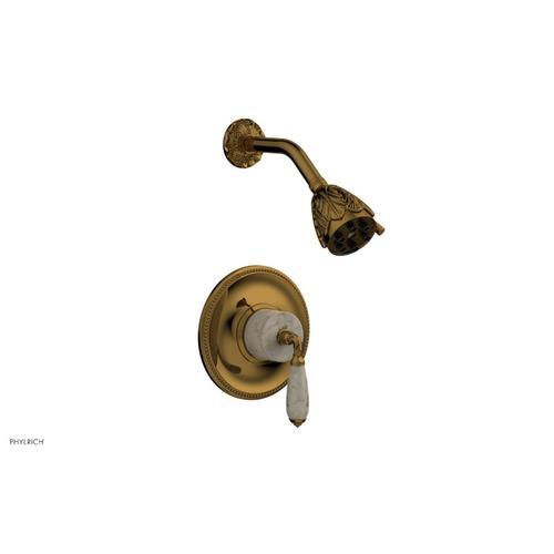 VALENCIA Pressure Balance Shower Set PB3338D - French Brass