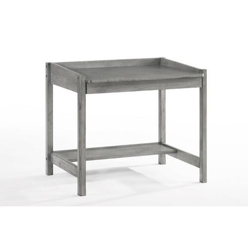 Zest Student Desk in Rustic Gray Finish