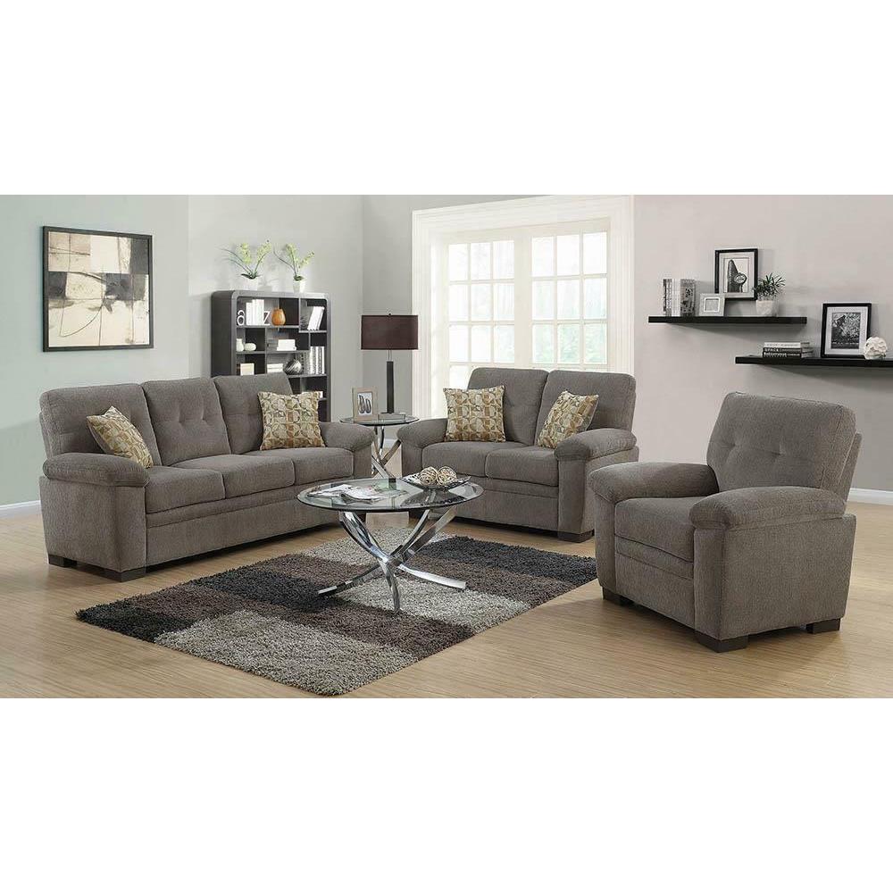 See Details - Fairbairn Casual Oatmeal Chair