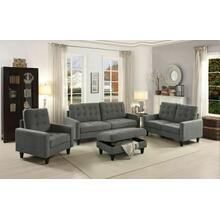 ACME Nate Sofa - 50240 - Gray Fabric