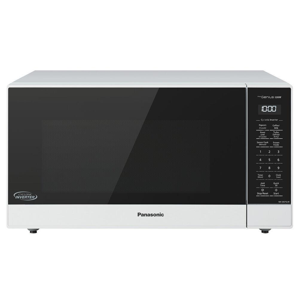 PanasonicPanasonic 1.6 Cu. Ft. 1250w White Microwave Oven With Inverter And Genius Sensor Technology - Nn-Sn75lw
