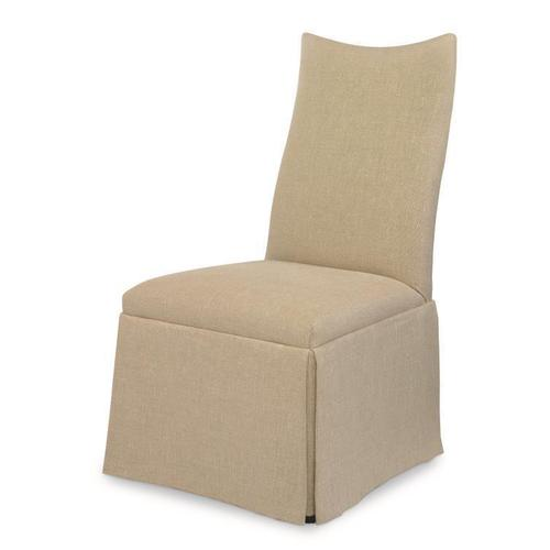 Chandler Curved Back With Scoop Top Chair