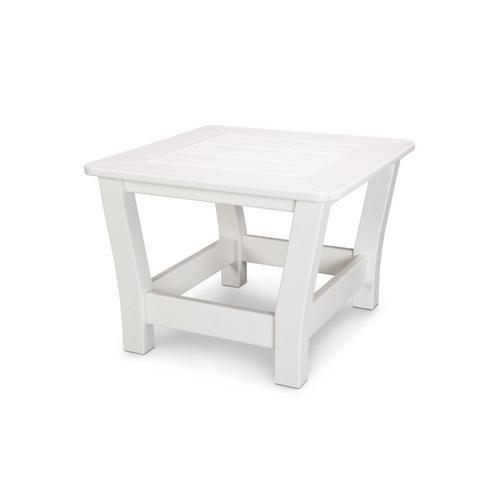 White Harbour Slat End Table