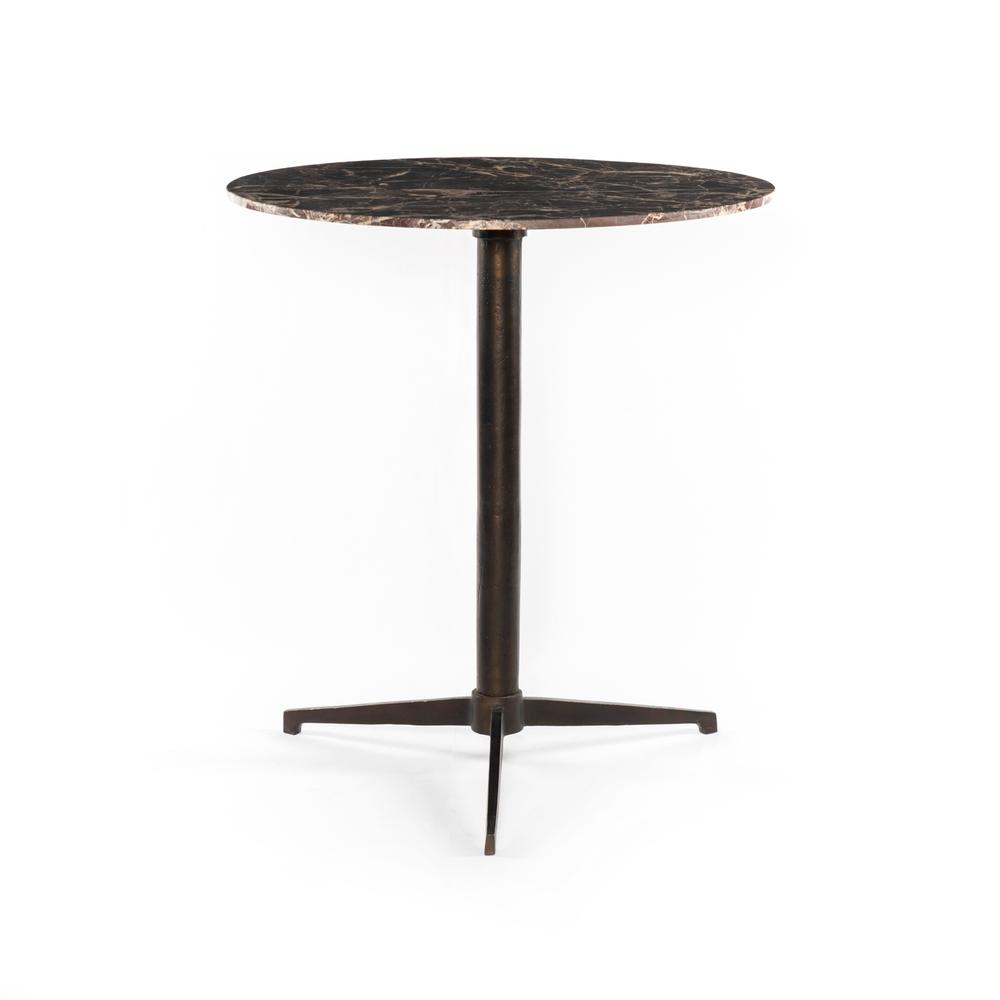 See Details - Counter Table Size Garnet Marble Finish Helen Bar + Counter Table