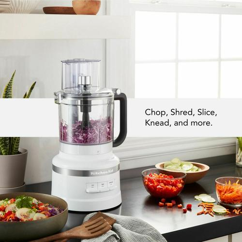 KitchenAid Canada - 13-Cup Food Processor with Dicing Kit - White