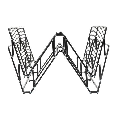 Leggett and Platt - Simple Life Compact Folding Mattress Foundation with No-Tool Assembly, California King