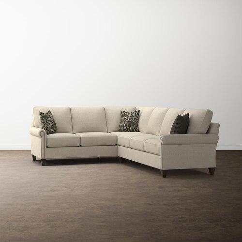 Gallery - Custom Upholstery Large L-Shaped Sectional